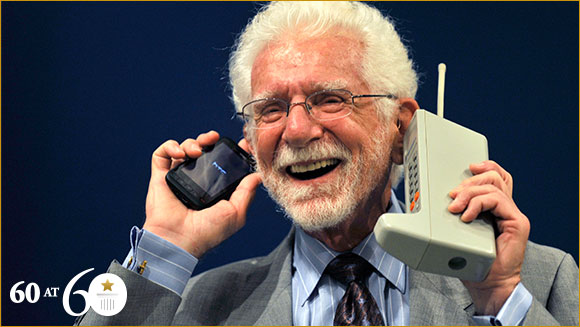 1973: First Mobile Phone Call