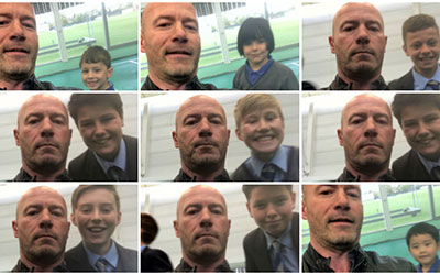 Alan Shearer and school kids to set selfie world record