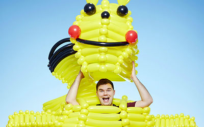 Largest balloon costume