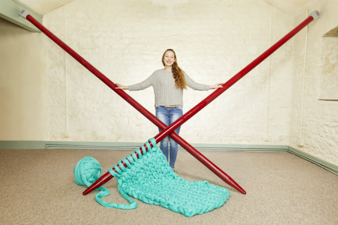 Betsy Bond - Largest Knitting Needles