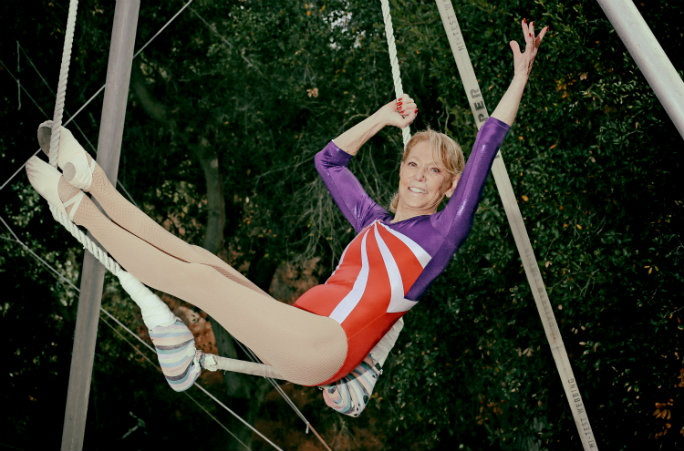 Betty Goedhart - Oldest Trapeze Artist