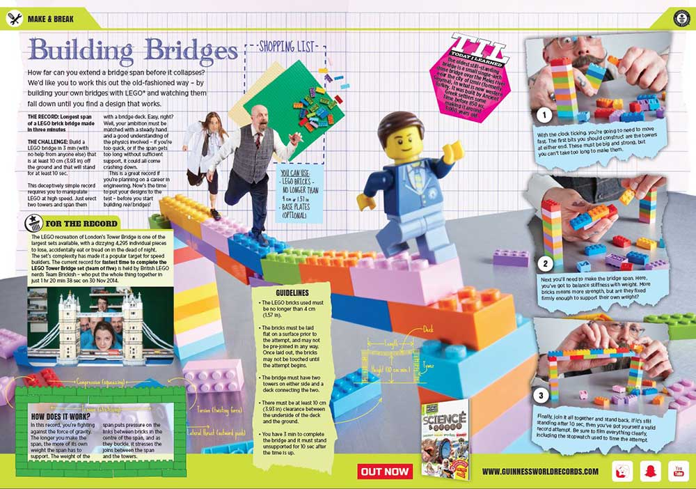 Building Bridges experiment instructions image