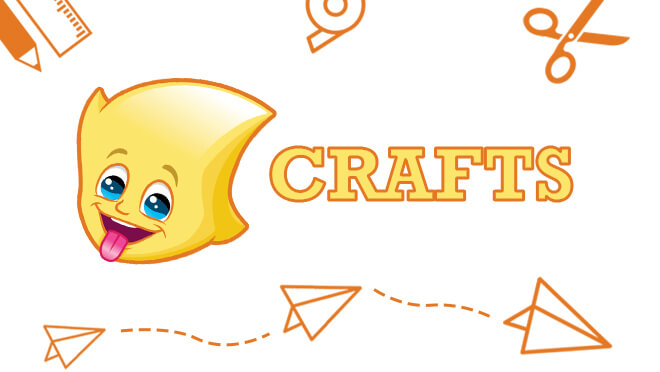 Crafts activity sheets