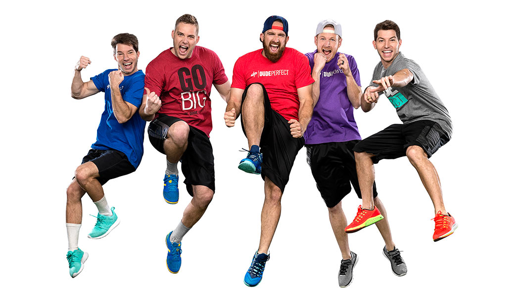 Dude Perfect Nick Header guinness world records