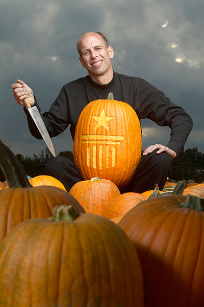 Fastest time to carve one tonne of pumpkins
