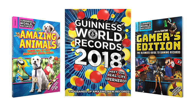 The Guinness World Records 2018 collection is out now