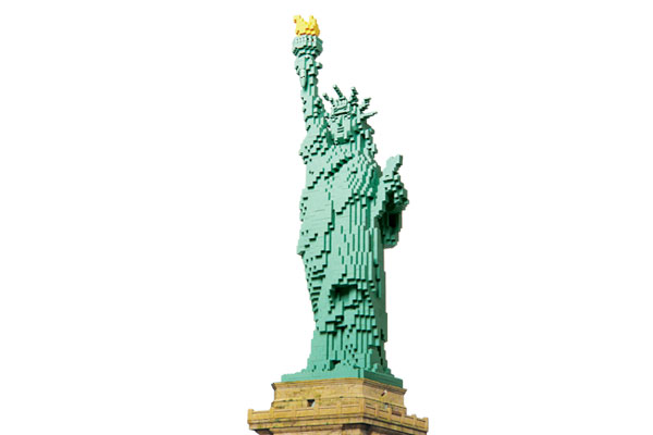 Statue of Liberty tile