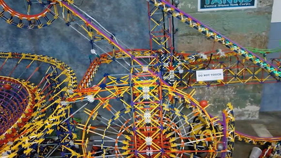 Largest KNEX ball contraption