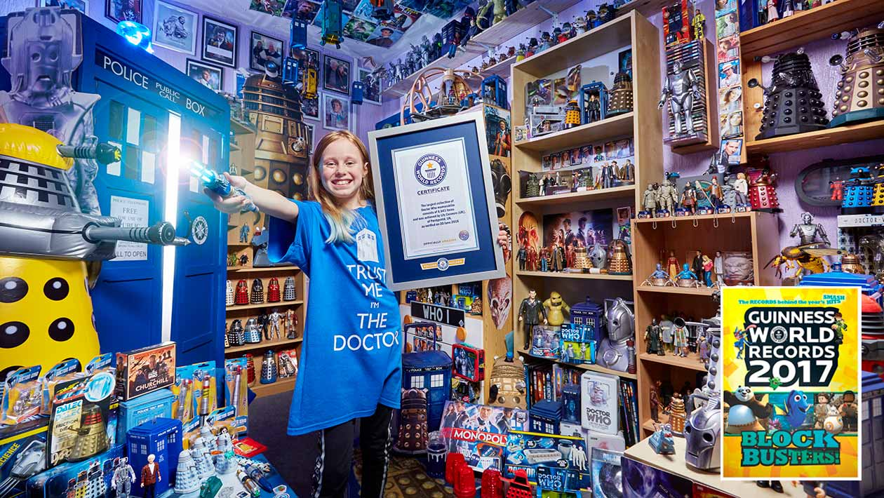 british teen has worlds largest collection of doctor who memorabilia