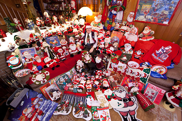 Largest collection of Santa Claus memorabilia