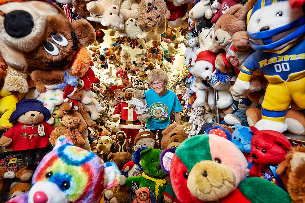 Largest collection of teddy bears