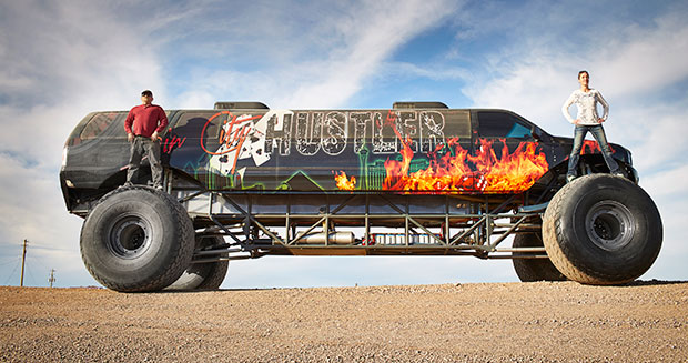 Longest monster truck USA