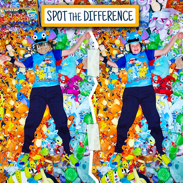 Pokemon Spot the Difference