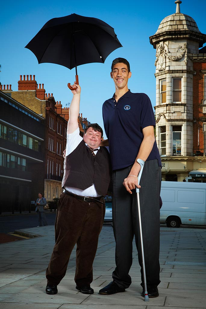 Tallest living man