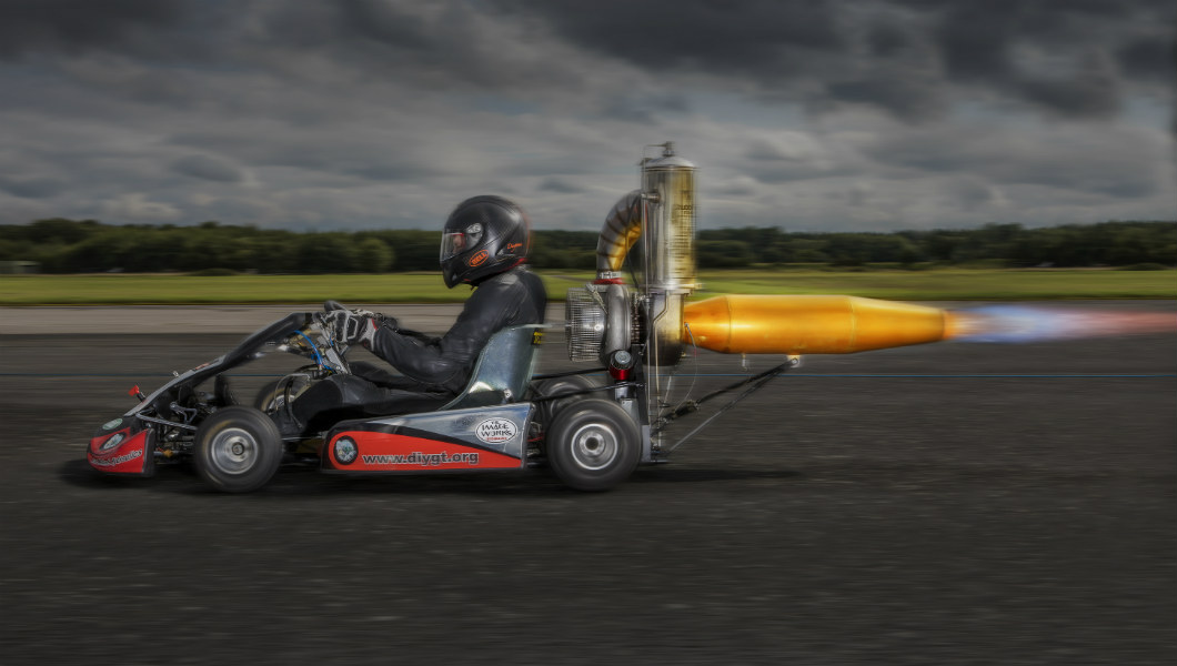 Tom Bagnall - Fastest Jet Powered Go Kart- header