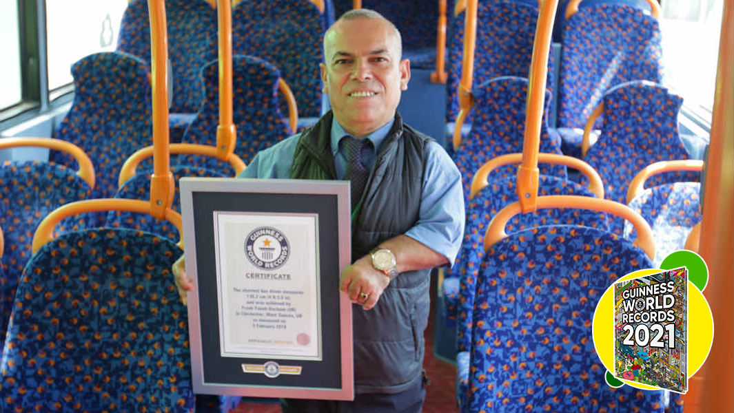 Meet the world's shortest bus driver!