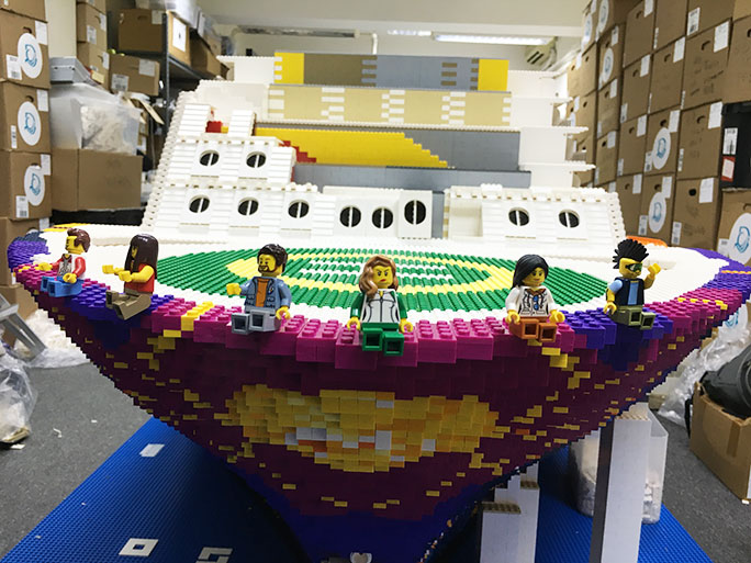 Video: Two awesome LEGO® builds have broken records this month