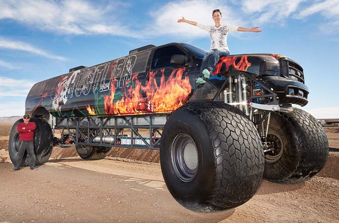 The World S Longest Stuff Nails Tongues Monster Trucks And More Guinness World Records